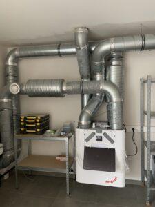 ventilatie systeem D