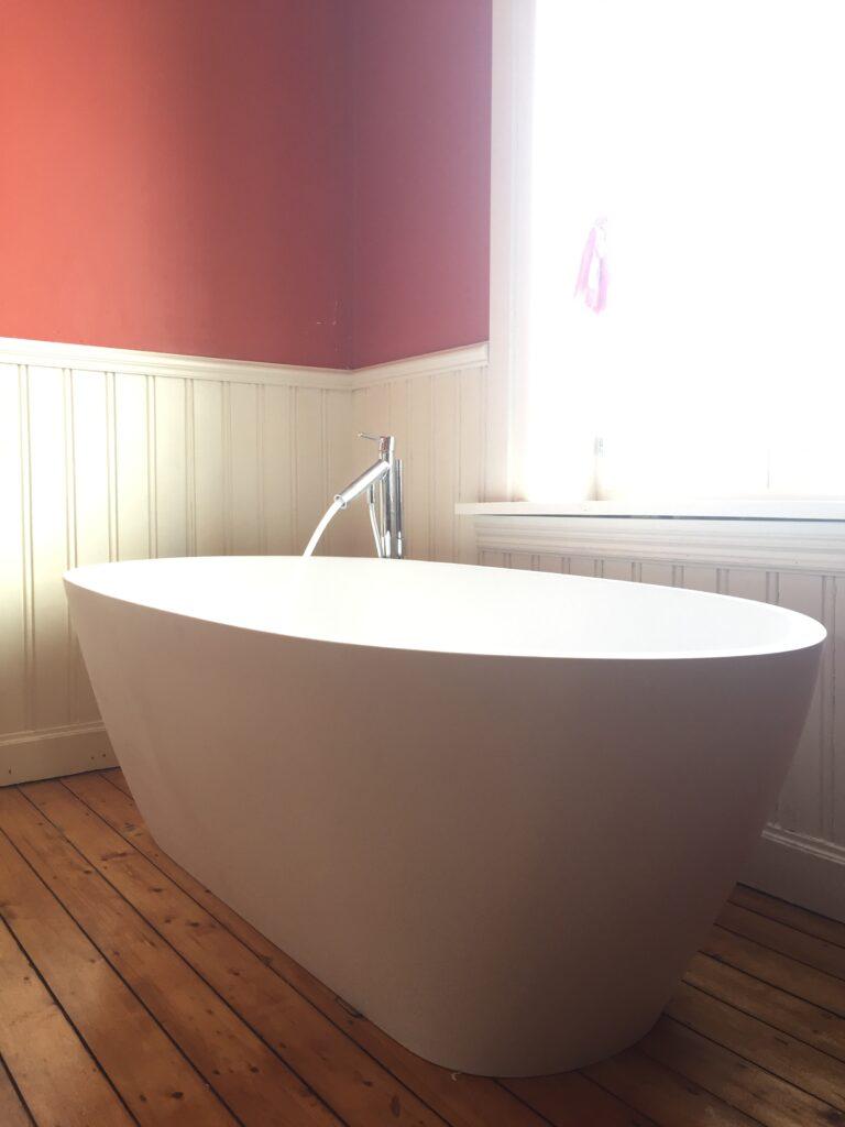 badkamerrenovatie vrijstaand bad